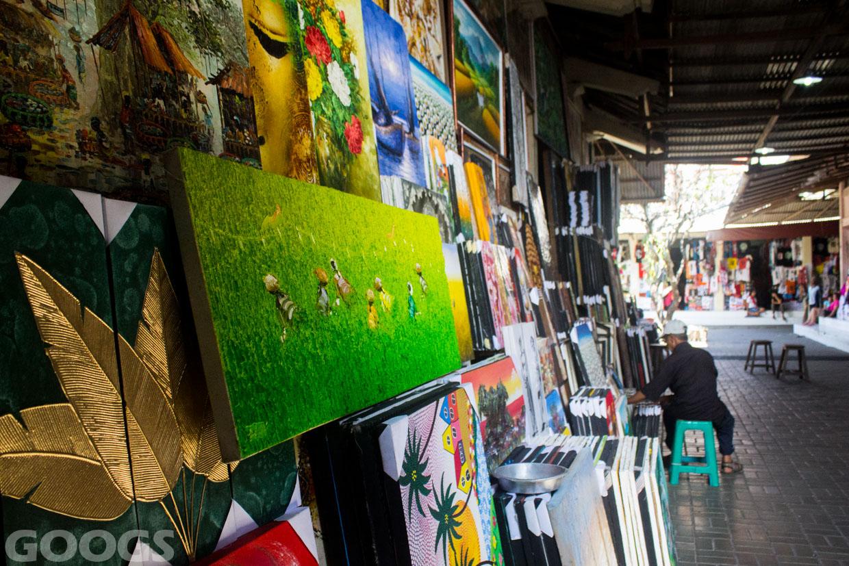 Pasar Seni Guwang Sukawati Alternatif Belanja Gianyar Bali Kab