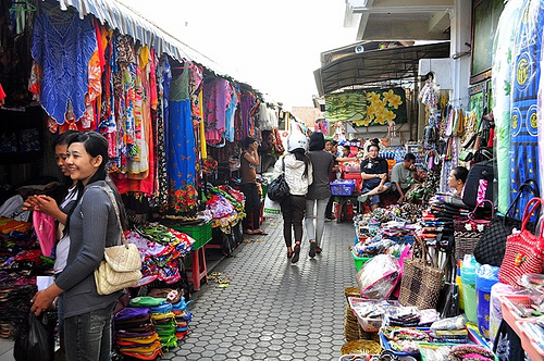 Pasar Seni Sukawati Art Market Bali Attractive Option Shopping Attractions