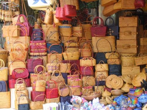 Pasar Seni Sukawati Art Market Bali Kab Gianyar