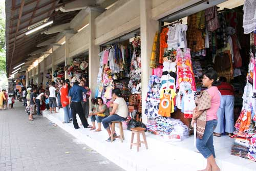 Pasar Seni Sukawati Bali Beach Indonesia Kab Gianyar
