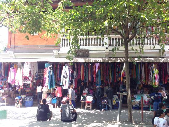 Pasar Seni Sukawati Gianyar Picture Art Market Kab