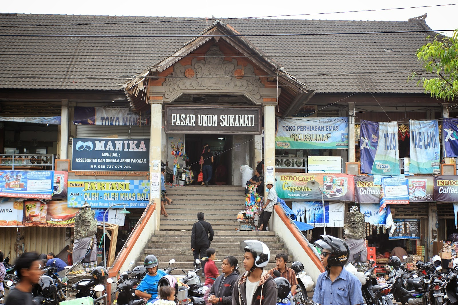 Pasar Seni Sukawati Sumber Suvenir Khas Bali Pariwisata Kab Gianyar