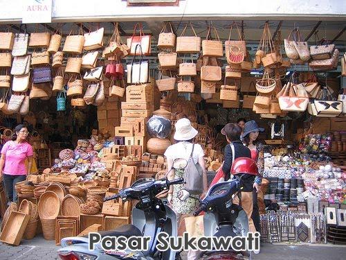Pasar Sukawati Mardi Lestari Kuta Sanur Nusa Dua Bedugul Ubud