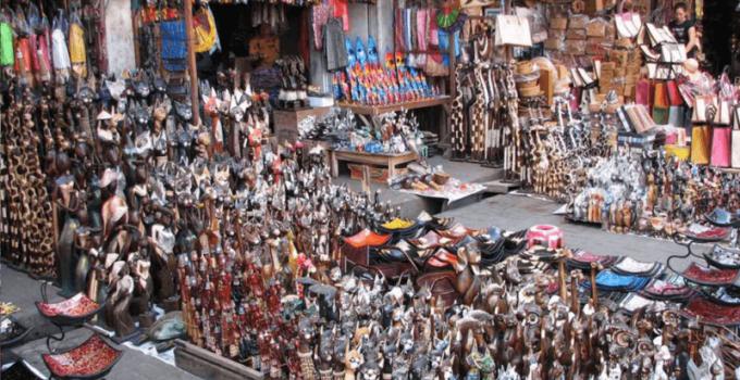 Pasar Sukowati Bali Tempat Belanja Murah Barang Seni Sukawati Kab