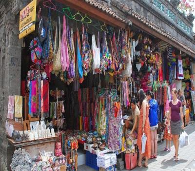 Tag Sukawati Traditional Market Art Kabupaten Gianyar Bali Indonesia Pasar