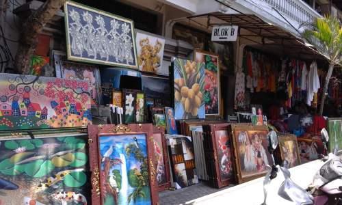 Tips Belanja Murah Bali Coba Berkunjung Pasar Seni Sukawati Berbagai