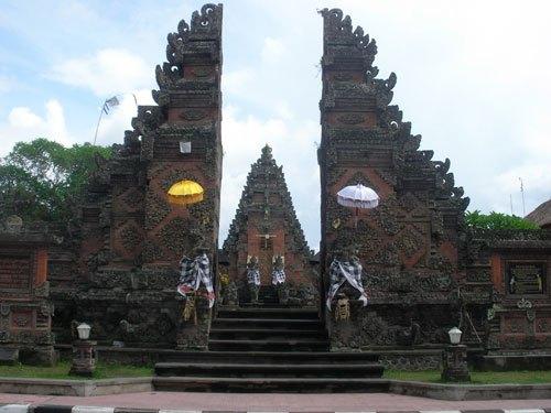 Batuan Temple Pura Desa Puseh Shrine Owned Villagers Village District