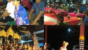 Bhabin Desa Ketewel Polsek Sukawati Bersama Personil Intelkam Atensi Gianyar