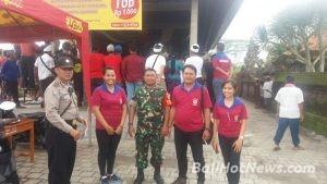 Bhabinkamtibmas Siangan Polsek Gianyar Pengamanan Penutupan Bertempat Wantilan Pura Puseh