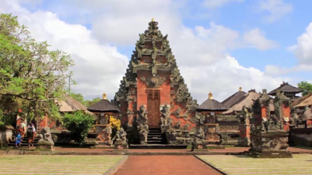 Pura Puseh Desa Batuan Kabupaten Gianyar Bali Youtube Kab