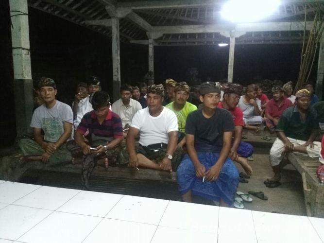 Sosialisasi Pilkada Serentak 2018 Wantilan Jaba Pura Dalem Puri Belang