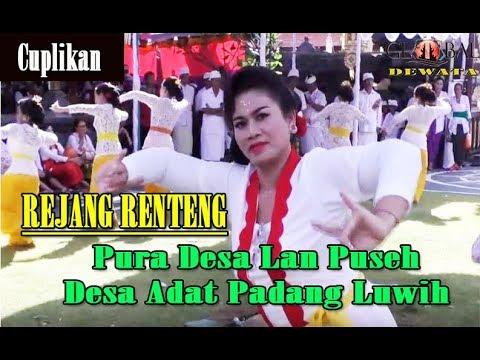 Tari Rejang Renteng Pura Desa Lan Puseh Adat Padang Luwih