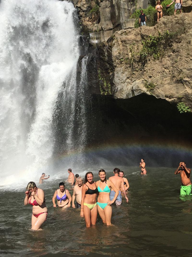 Tegenungan Waterfall Bali Besbswy Pura Tirta Empul Kab Gianyar