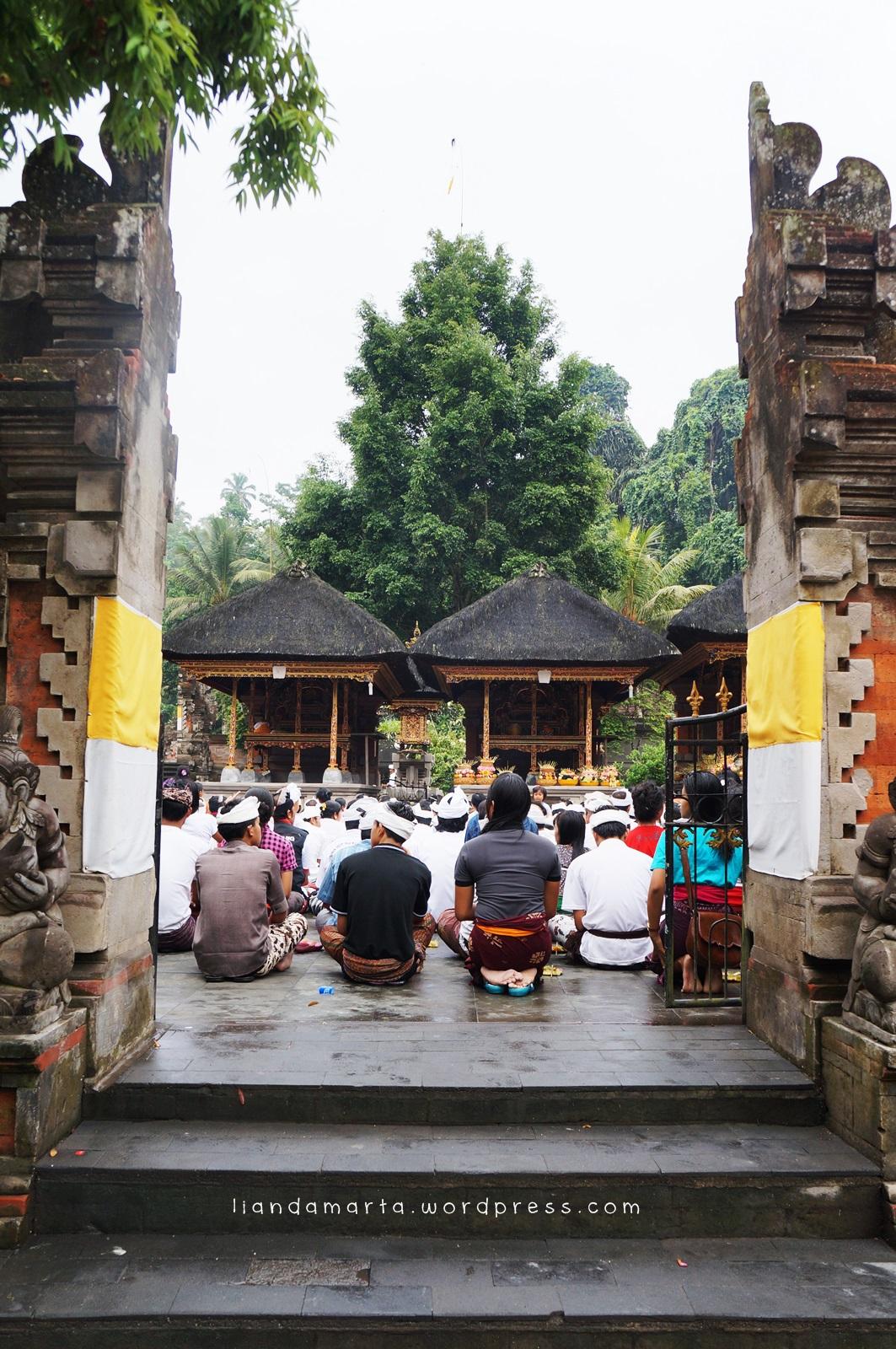 Tour De Pura 1 Liandamarta Tirta Empul Tampak Siring Kab