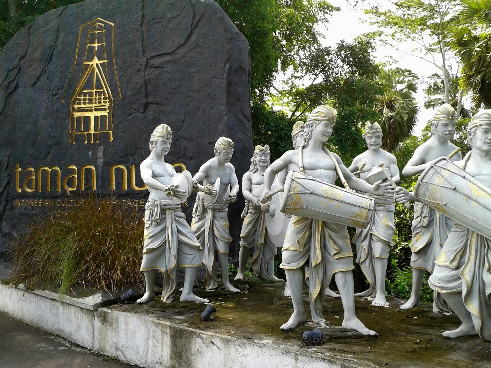 Blogodok Blegedek Keliling Indonesia Taman Nusa Gianyar Jadi Jangan Khawatir