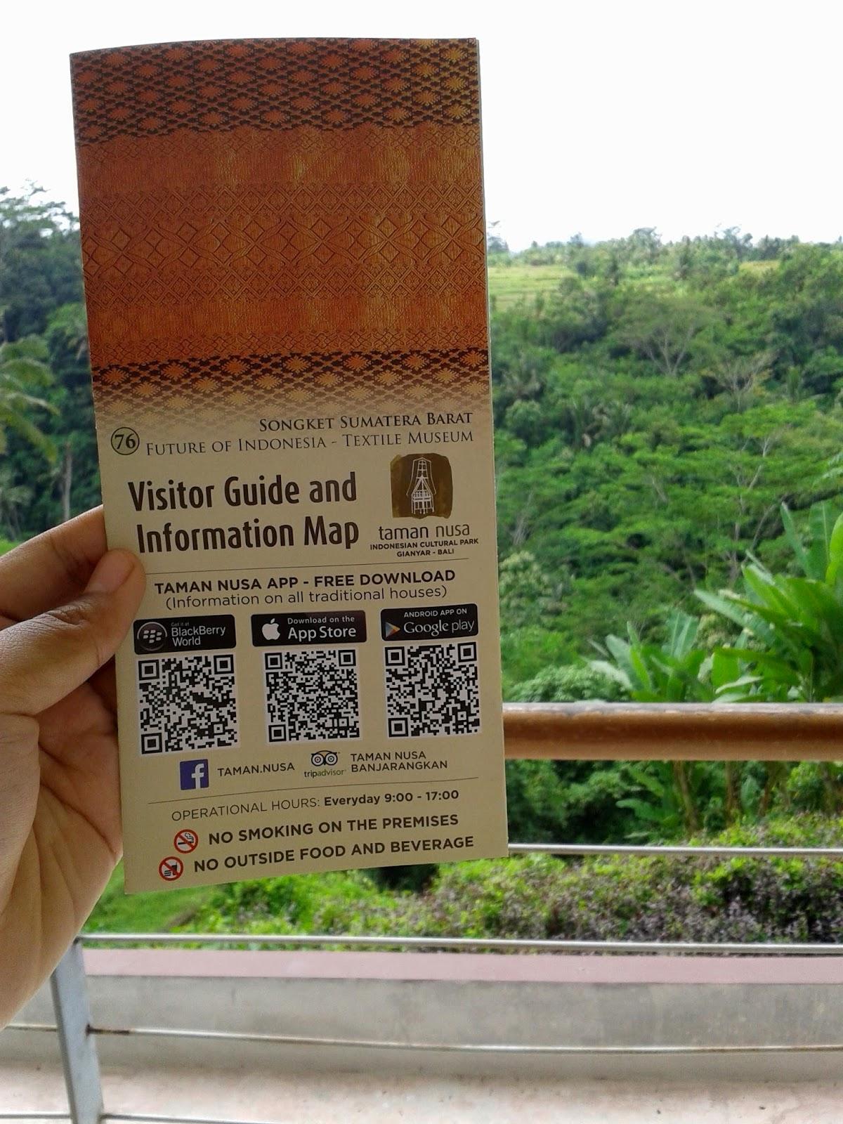 Blogodok Blegedek Keliling Indonesia Taman Nusa Gianyar Visitor Guide Information