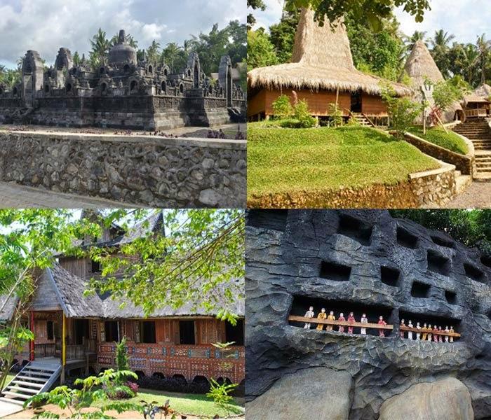 Februari 2015 Pembangunan Taman Nusa Digagas Oleh Santosa Senangsyah Budaya