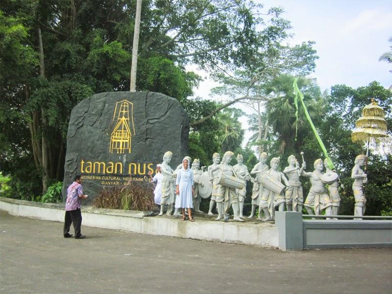 Inilah Tempat Wisata Terbaru Bali Hits Taman Nusa Gianyar Kab