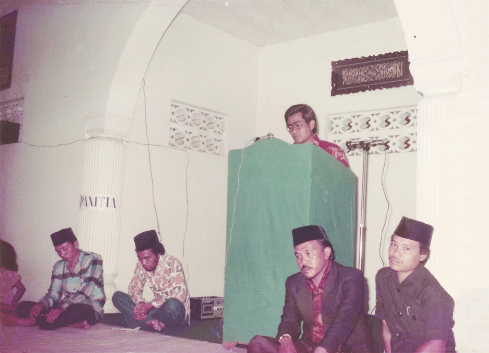 Sekilas Tentang Sejarah Masjid Agung Al La Kabupaten Gianyar Taman