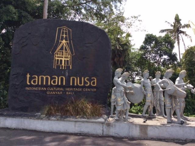 Tempat Wisata Bali Taman Nusa Gianyar Budaya Terletak Kabupaten Menyajikan