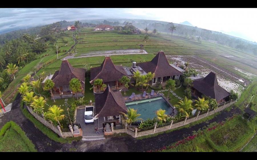 Villa Dijual Joglo Sebatu Tegalalang Gianyar Bali Taman Nusa Kab