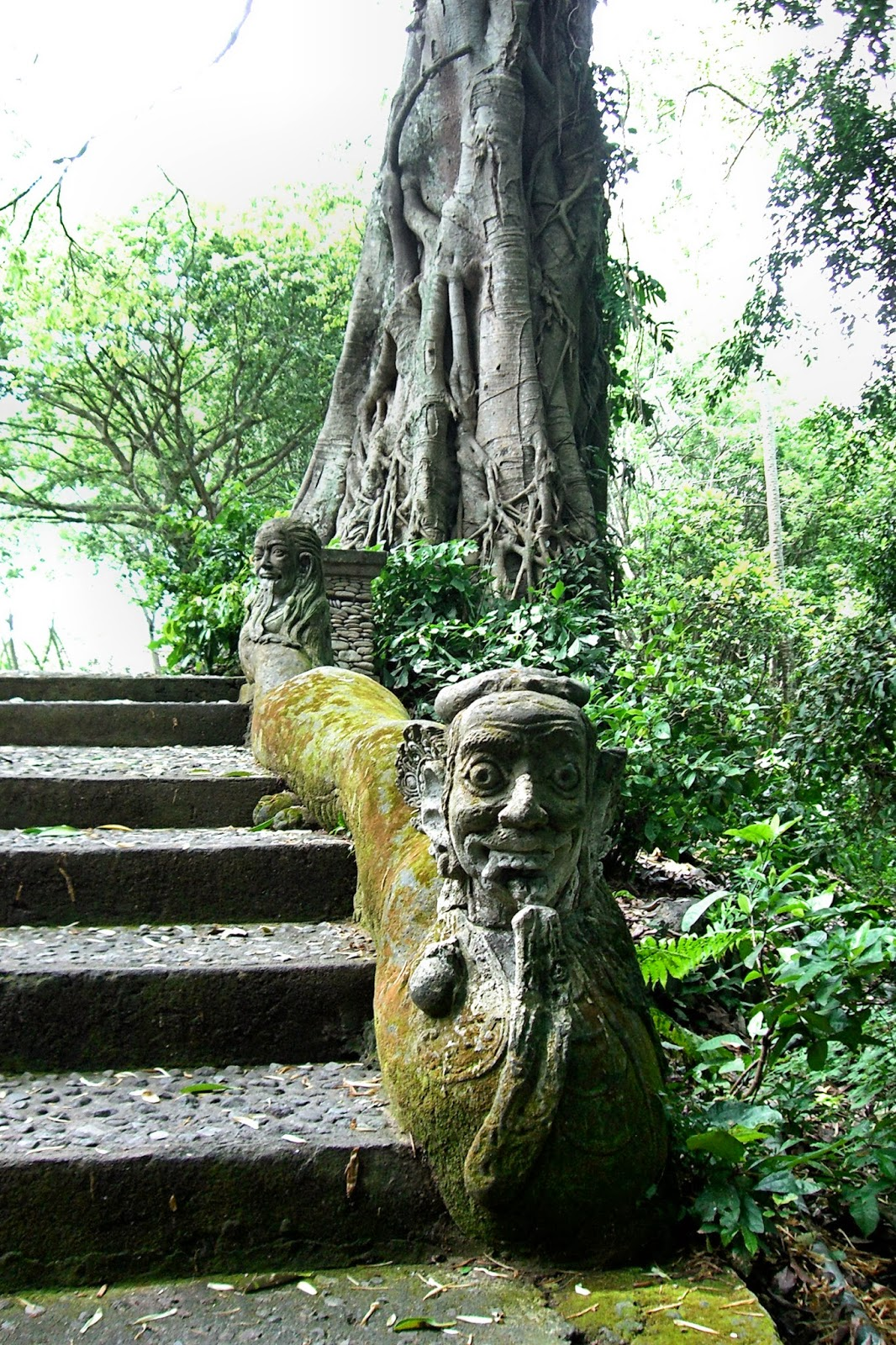 Enchanting Se Asia Bali Indonesia Part Ubud Cultural Statues Scared