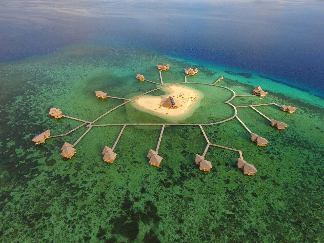 20 Tempat Wisata Gorontalo Utara Bagus Wajib Dikunjungi Pulau Cinta