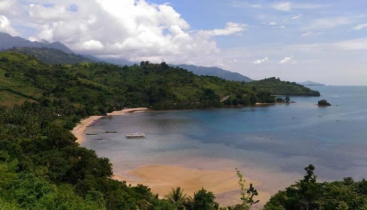Keindahan Alam Sulawesi Pulau Tempat Wisata Pantai Indonesia Dunu Kab