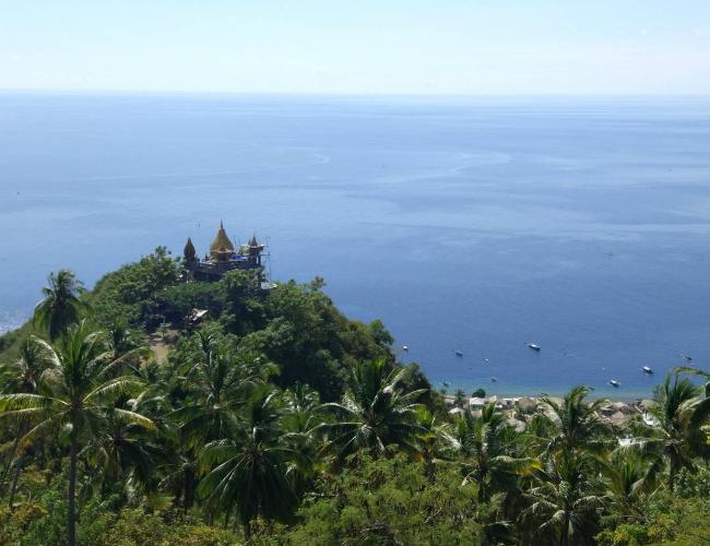 Masjid Walima Emas Kabupaten Gorontalo Direktori Tempat Wisata Pantai Dunu