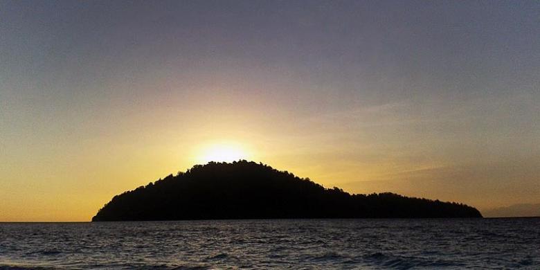 Mencari Sunyi Pulau Raja Kompas Berada Laut Sulawesi Masuk Wilayah