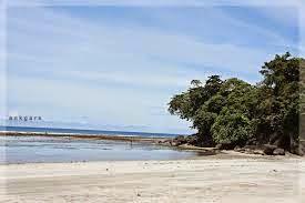Objek Wisata Gorontalo Utara Smart Pantai Dunu Salah Satu Tempat