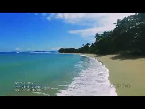 Pantai Dunu Gorontalo Utara Youtube Kab