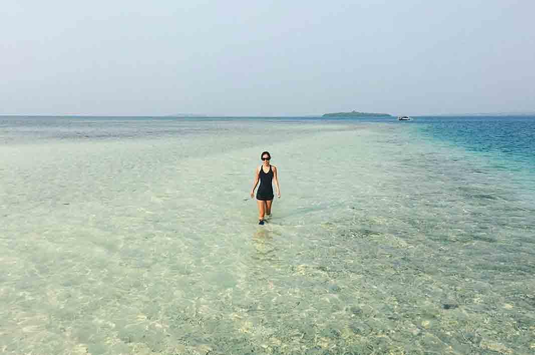 Wisata Gorontalo Rekan Pantai Tenilo Dunu Kab Utara