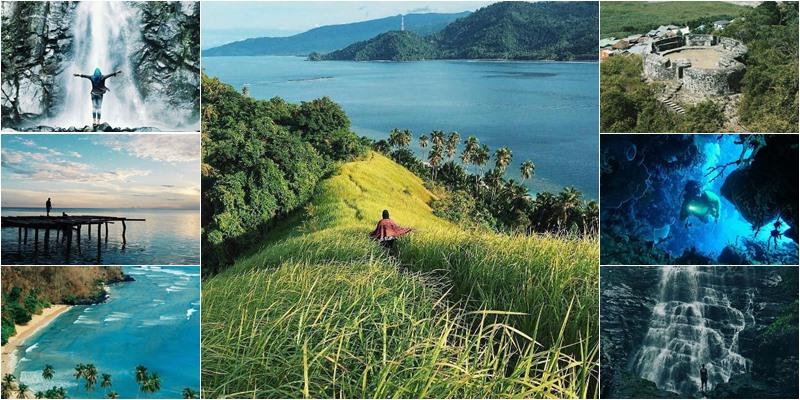 11 Tempat Wisata Hits Gorontalo Buatmu Kegirangan Ngadem Pulau Saronde