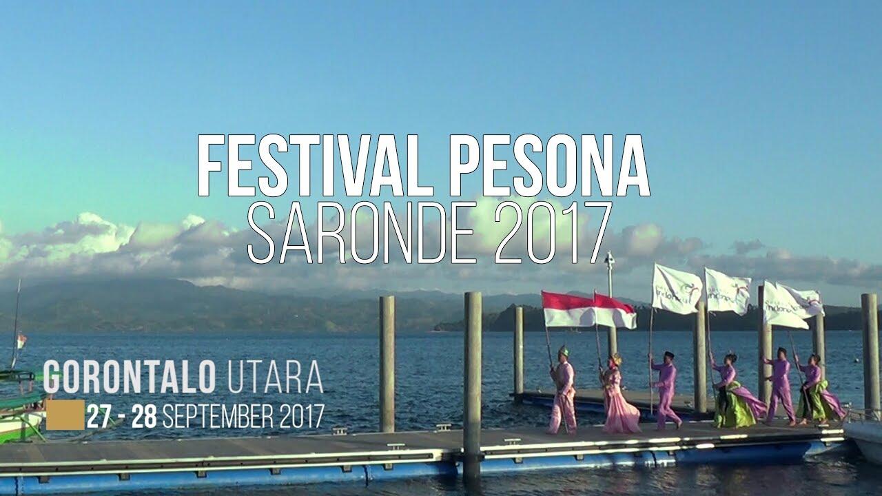 Festival Pesona Pulau Saronde 2017 Munculkan Surga Tersembunyi Gorontalo Fajar