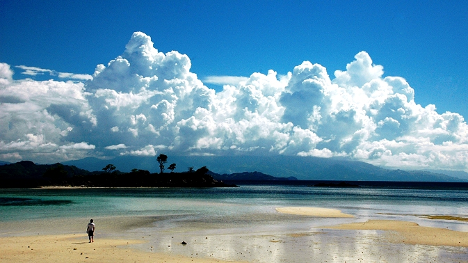 Indahnya Pulau Saronde Gorontalo Katamedia Kab Utara