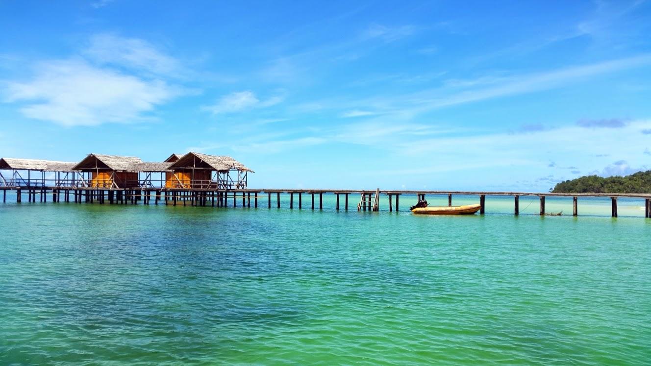 Keindahan Pulau Saronde Gorontalo Utara Backpacker Jakarta Kab