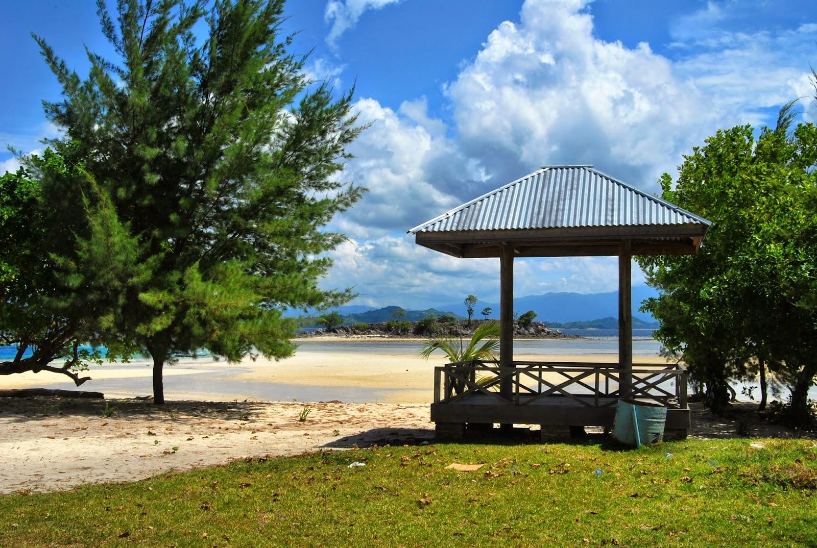 Love Pulau Saronde Gorontalo Udah Sediain Tempat Penyewaan Alat Snorkling