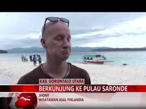 Mimozatv Gorontalo Festival Pesona Pulau Saronde Youtube Kab Utara