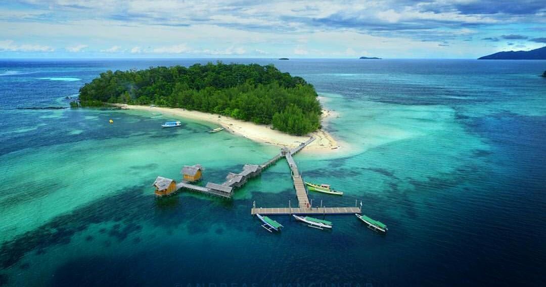 Pulau Saronde Eksotisme Gorontalo Luar Biasa Kab Utara