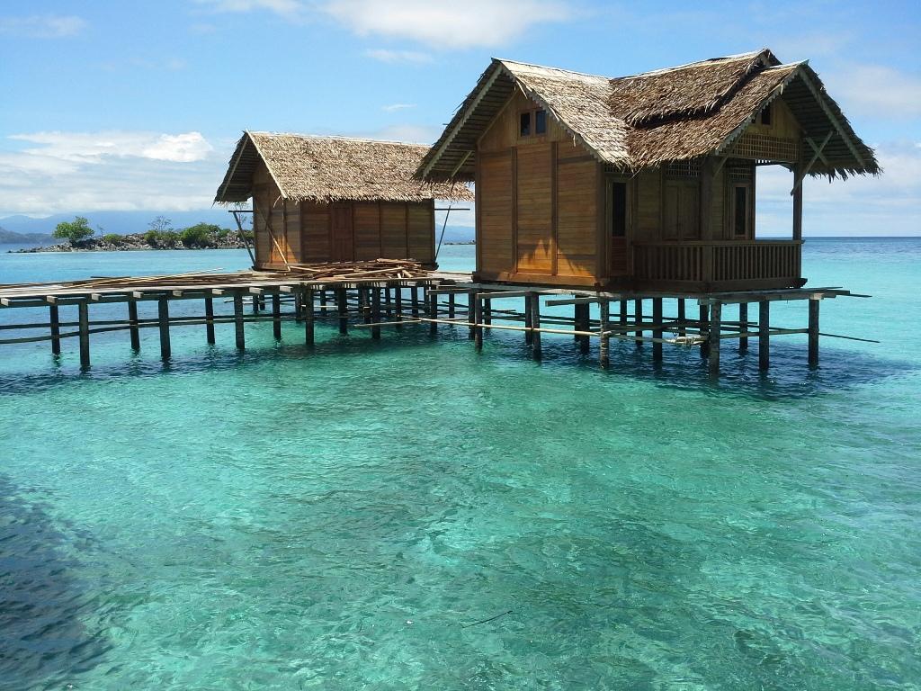 Pulau Saronde Gorontalo Utara Indonesia Home Kab