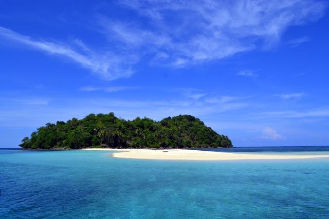 Pulau Saronde Gorontalo Utara Indonesia Kab