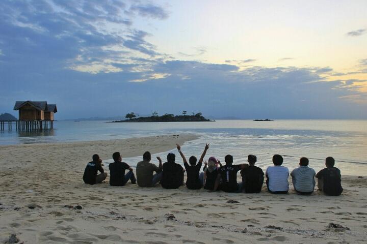 Pulau Saronde Gorontalo Utara Nantidulu Sunset Kab
