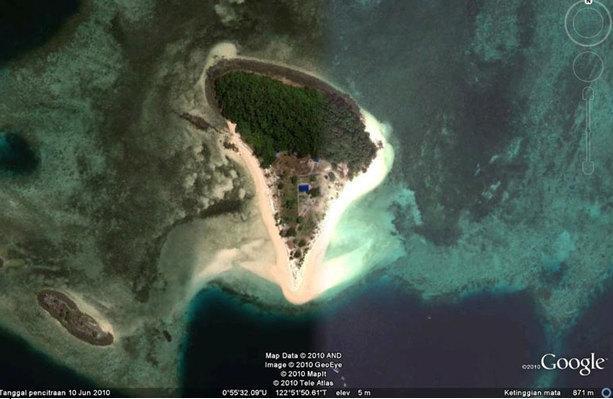 Pulau Saronde Gorontalo Warong Pulsa Kab Utara