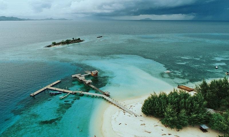 Pulau Saronde Jadi Maldives Memesona Gorontalo Sportourism Kab Utara