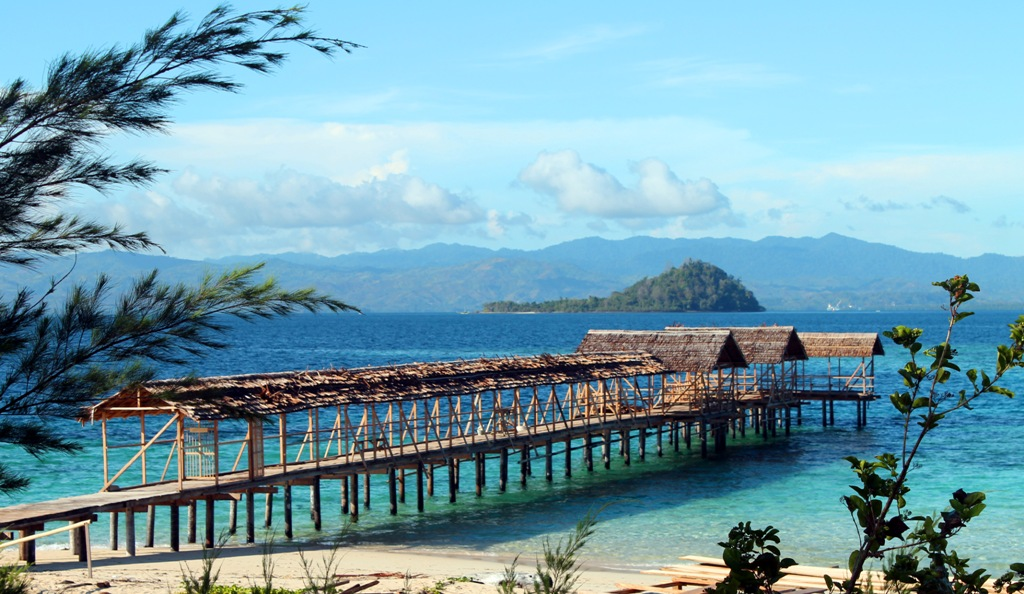 Pulau Saronde Keindahan Memanjakan Mata Gorontalo Kab Utara