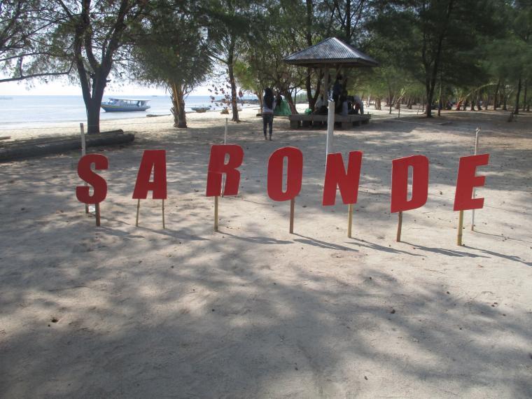 Saronde Pulau Eksotis Bumi Gorontalo Oleh Atin Paramani Kab Utara