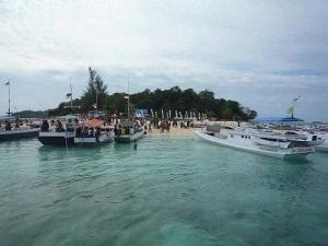 Wisata Bahari Pulau Saronde Gorontalo Utara Malik Uno Setelah Sampai