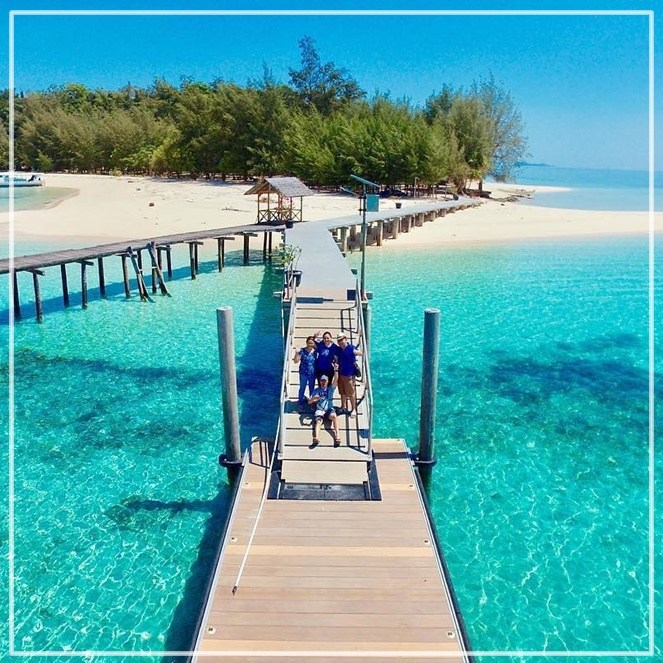 Wisata Gorontalo Indahnya Bikin Galau Traveling Yuk Pulau Saronde Kab