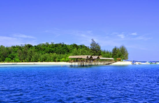 Wisata Pulau Saronde Gorontalo Utara Aneka Nusantara Kab